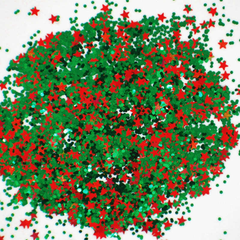 Новогодний глиттер Рождественское дерево